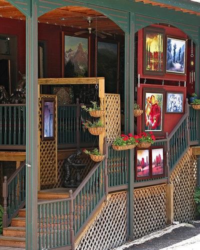 Eureka Springs art galleries