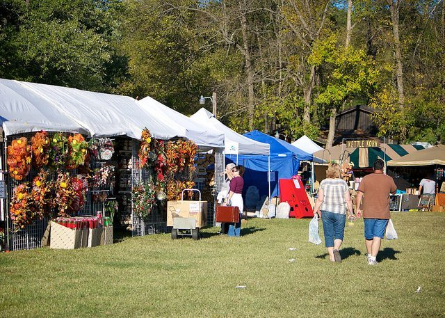 War Eagle Mill Craft Fair & What You Need to Know About War Eagle Mill Craft Fair - Arsenic ...