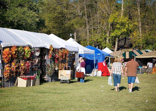 War Eagle Mill Craft Fair