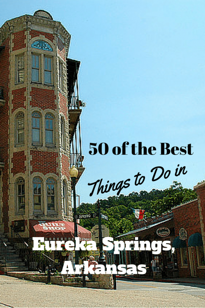 Top 50 Eureka Springs Attractions – Arkansas Tourist Attractions Map