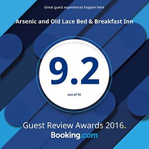 Arsenic And Old Lace Booking Award
