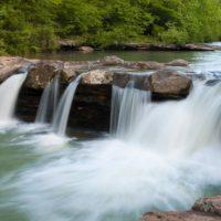 Kings River Falls, one of the best waterfalls near Eureka Springs, Arkansas
