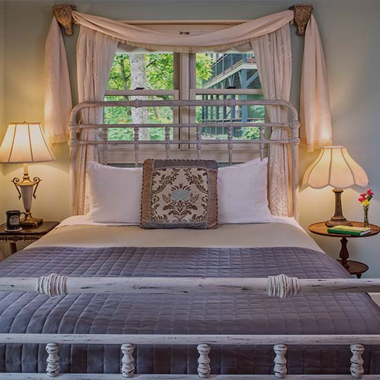Arsenic & Old Lace Bed and Breakfast Guest Room in Eureka Springs Arkansas