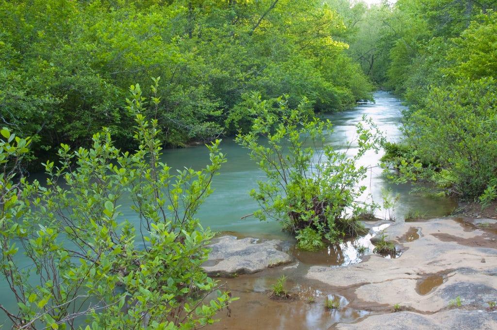 Kings River Falls Near Eureka Springs