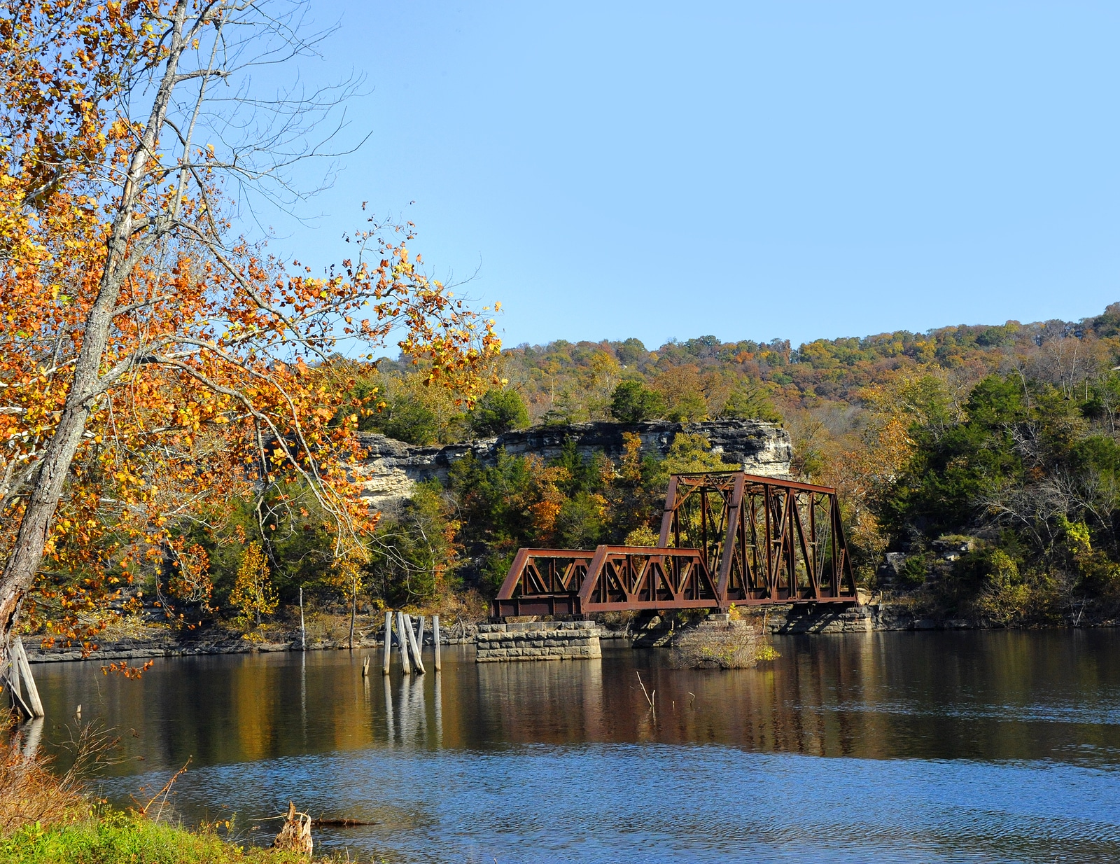 The Perfect Train ride in Arkansas This fall